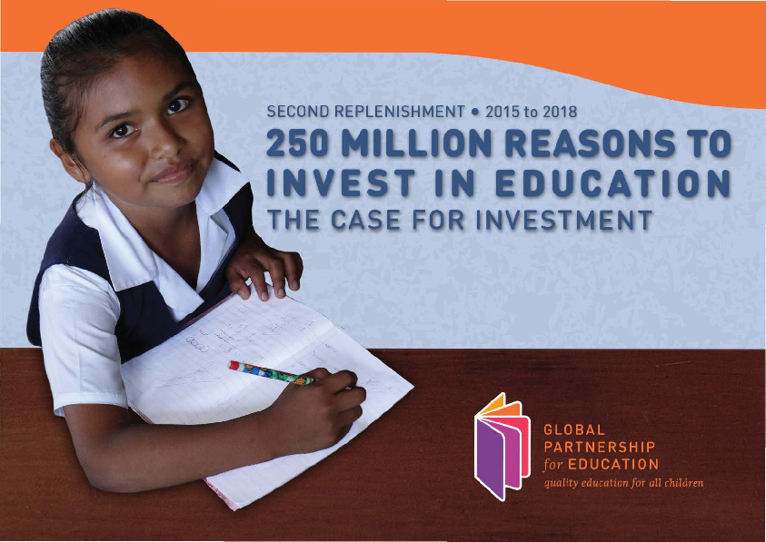 250 Million Reasons to Invest in Education: The Case for Investment