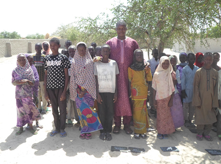 The students of Koussiri village in Lake Chad region