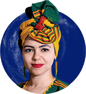 Aya Chebbi, former African Union Special Envoy on Youth