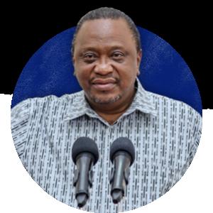 Uhuru Kenyatta, President of the Republic of Kenya