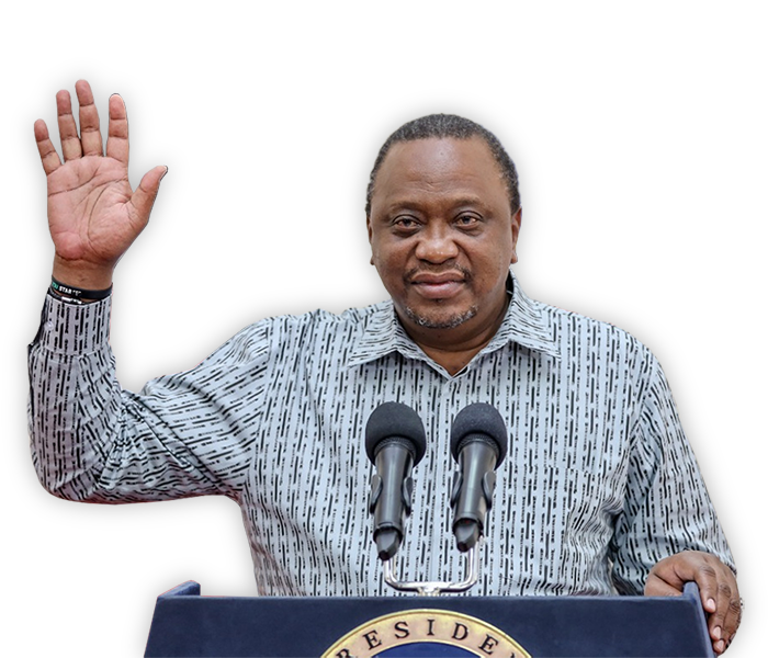 Uhuru Kenyatta - President of the Republic of Kenya