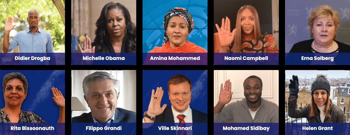 Les partenaires lèvent la main pour soutenir la campagne de financement du GPE