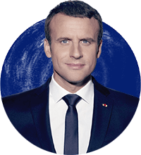 Emmanuel Macron - President of the Republic of France