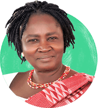 Prof. Naana Jane Opoku-Agyemang - Chairperson for the Forum for African Women Educationalists (FAWE) and former Minister of Education for Ghana