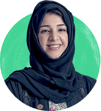 Reem Bint Ebrahim Al Hashimy - Cabinet member and Minister of State for International Cooperation for the United Arab Emirates