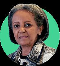 Sahle-Work Zewde - President of Ethiopia