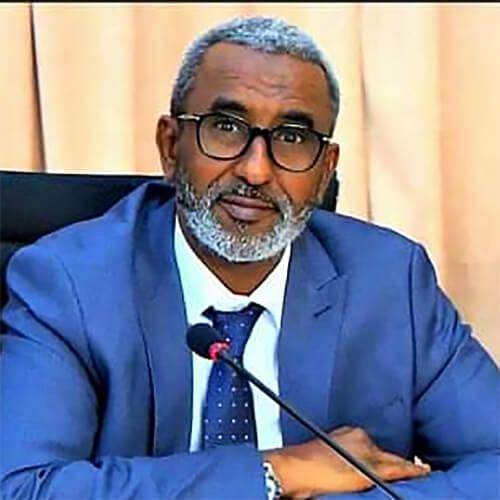 Hon. Abdoulkarim Aden Cher, Minister of Budget, Djibouti