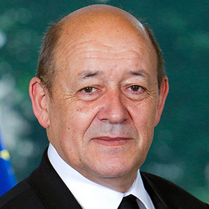 Jean-Yves Le Drian, Hon Minister for Europe and Foreign Affairs, France