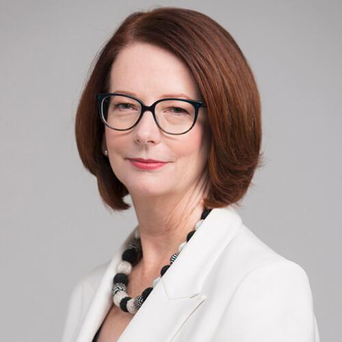 Julia Gillard, Présidente du Conseil d'administration du GPE