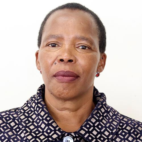 Hon. 'Mamookho Phiri, Ministre de l'Éducation et de la Formation, Lesotho
