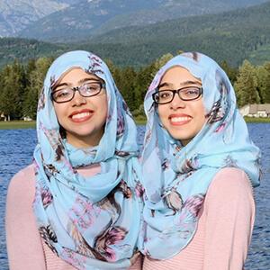Maryam et Nivaal Rehman