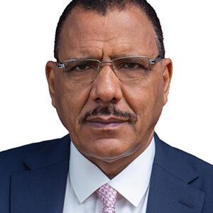 S.E Mohamed Bazoum, Président de la République du Niger