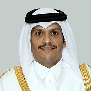 Son Altesse royale Cheikh Mohammed bin Abdulrahman Al-Thani, Vice-Premier ministre et ministre des Affaires étrangères du Qatar