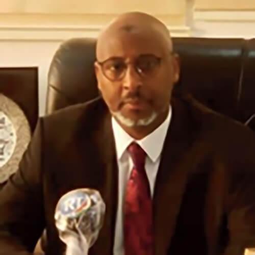 Hon. Moustapha Mohamed Mahamoud, Ministre de l'Éducation nationale et de la Formation professionnelle, Djibouti