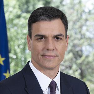S.E. Pedro Sánchez, Président du gouvernement d'Espagne