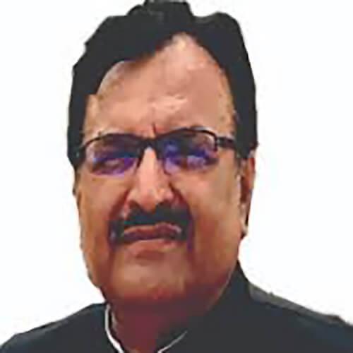 Hon. Sher Khan Bazai, Secrétaire d'Etat à l'enseignement secondaire, Province du Baloutchistan Pakistan
