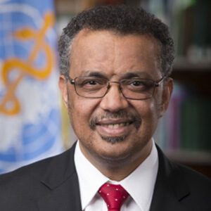 Dr Tedros Adhanom Ghebreyesus, Directeur général, Organisation mondiale de la Santé