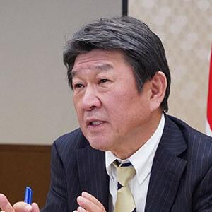Hon. Toshimitsu Motegi, Minister of Foreign Affairs, Japan