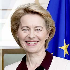 S.E. Ursula von der Leyen, Présidente de la Commission européenne