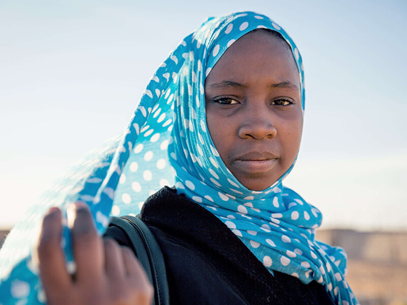 Voici Aichetou de Mauritanie