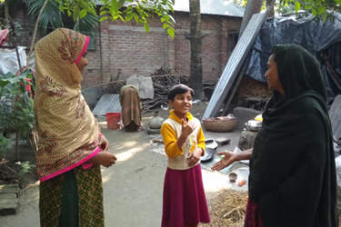 In Bangladesh, early programs for deaf children help them succeed in school