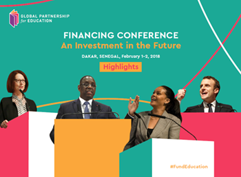 Experience the GPE Financing Conference, which gathered 10 heads of state, 100 ministers and more than 1200 participants