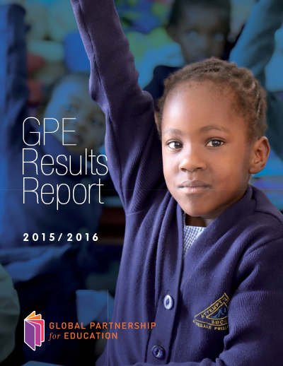 Results Report 2015/2016: More children in school and learning in GPE partner countries
