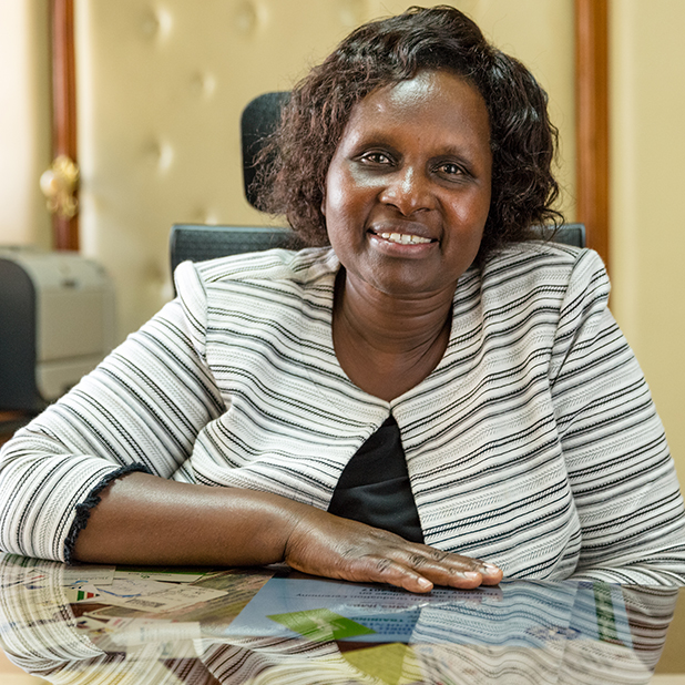 Leah Rotich, Director General of the Basic Education Department at the Ministry of Education Science and Technology, Kenya