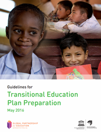 Cover of Guidelines for Transitional Education Plan Preparation