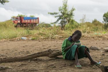 A child at Kapuri School in South Sudan. Credit: UN Photo/JC McIlwaine