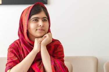 Malala Yousafzai. Credit: UN Photo/Mark Garten