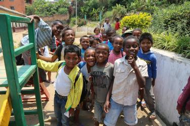School children in Madagascar. Credit: GPE/Carine Durand