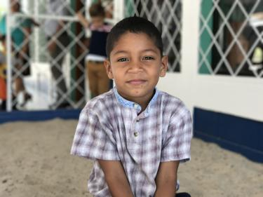 This boy attends the Guardabarranco School in Acoyapa, Nicaragua, which was recently rehabililated thanks to GPE funding. Credit: GPE/Carolina Valenzuela
