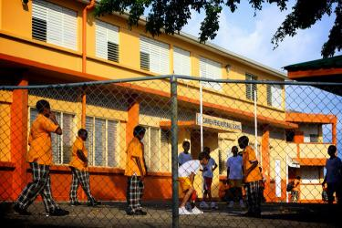 Castries Seventh Day Adventist Primary School. Credit: Meng He