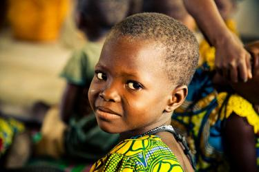A child in Togo. Credit: Breezy Baldwin