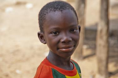 A boy from Benin. Credit: Andrea Moroni