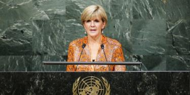Julie Bishop. Eduardo Munoz/Reuters