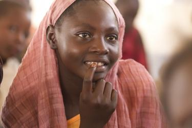 Éducation en Tchad. Crédit: Educate a Child