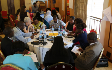 Participants at a 3-day workshop in Tanzania on gender-responsive education sector plans . Credit: GPE/Chantal Rigaud