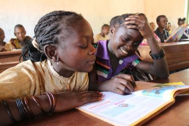 Education in the Central African Republic. Credit: UNICEF/KIM