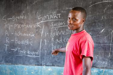 Harrison Nyamawi, Kenya. Credit: GPE/Kelley Lynch