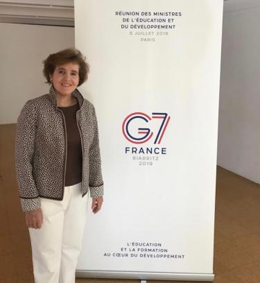 Alice Albright at the G7 Development and Education Ministers Meeting July 5th 2019