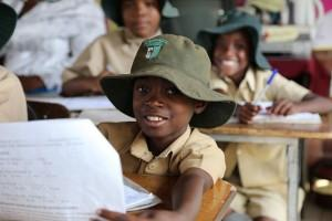 A student at the Glenview n*2 Primary School, Zimbabwe. Credit: GPE/ Carine Durand