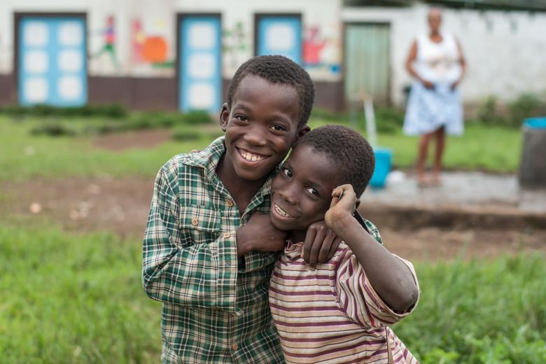 Two boys from Sao Tome and Principe. Credit: Helena Van Eykeren/Flickr