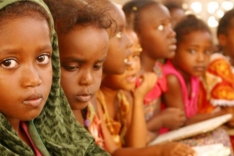 Primary-school girls attend Koranic school in Tadjourah, north-west of Djibouti, the capital. Credit: UNICEF/Giacomo Pirozzi