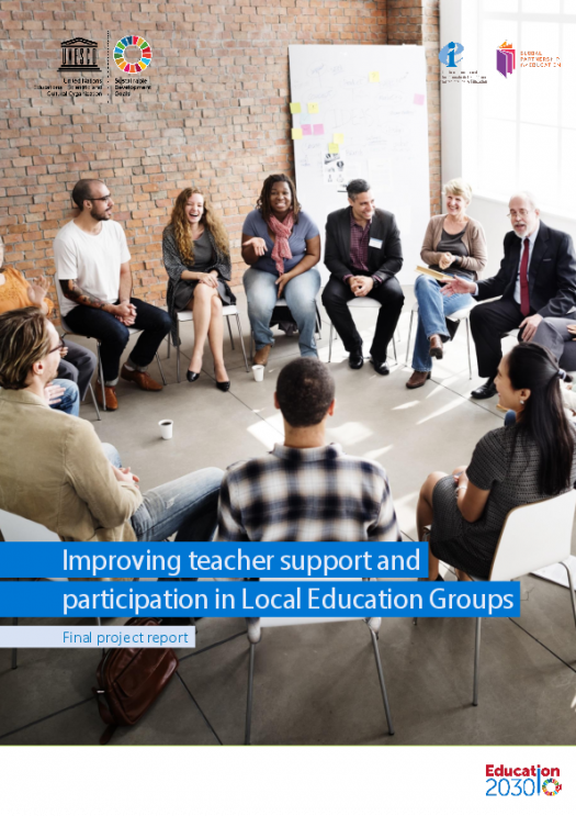 Improving teacher support and participation in local education groups