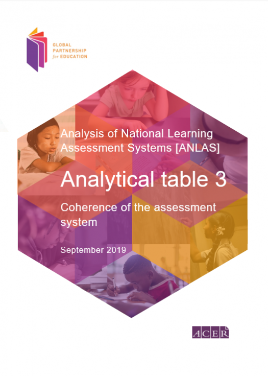 Analytical table 3: Coherence of the assessment system