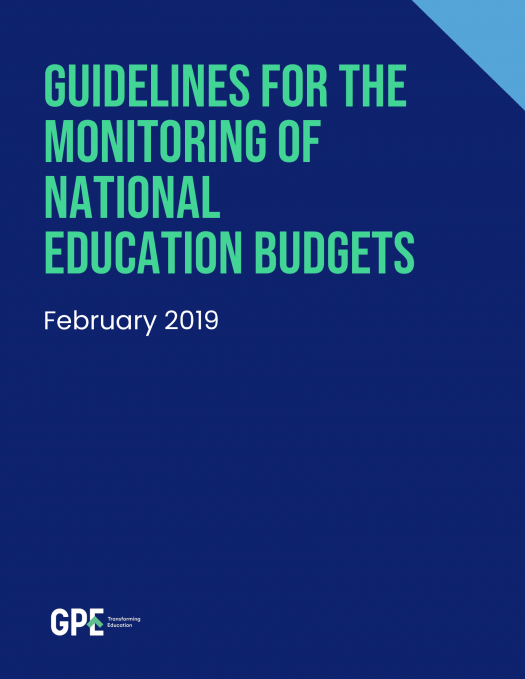Guidelines for national education budgets