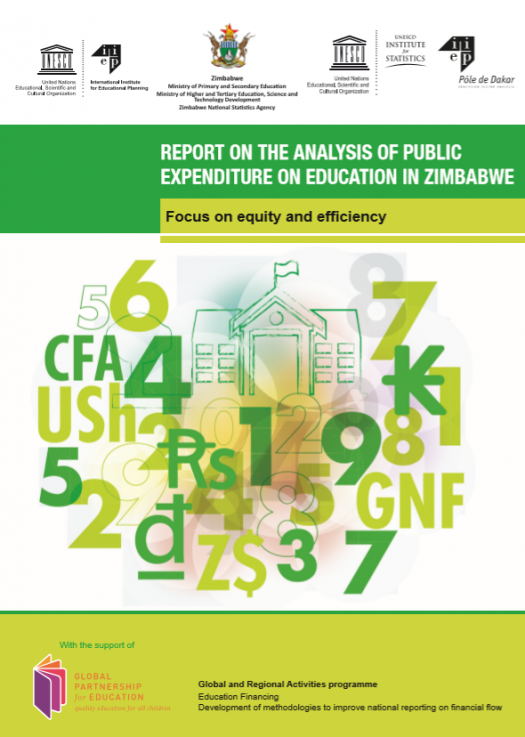 Report on the analysis of public expenditure on education in Zimbabwe. 2016