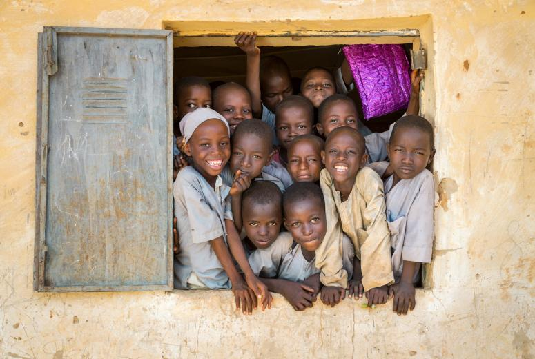 Overcrowded classrooms and broken infrastructure at Janbulo Islamiyya Primary School, Roni, Jigawa State, Nigeria